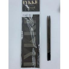Спицы LYKKE Driftwood съемные 12,5 см 4мм