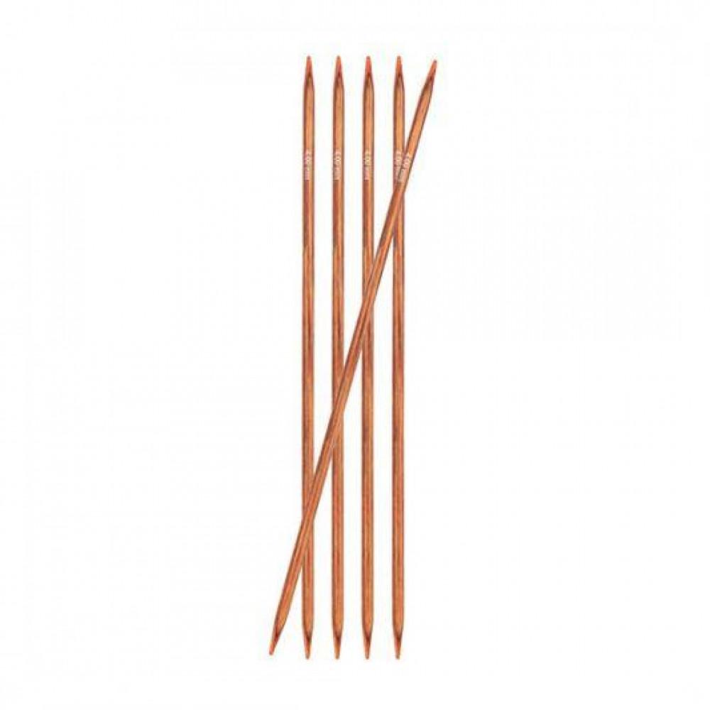 Спицы Knit Pro Ginger чулочные 15см/4мм