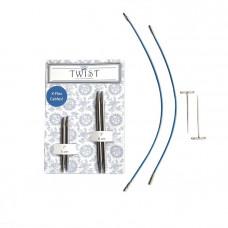 Набор ChiaoGoo Twist short combo Blue 4,5 мм (разъемные спицы)