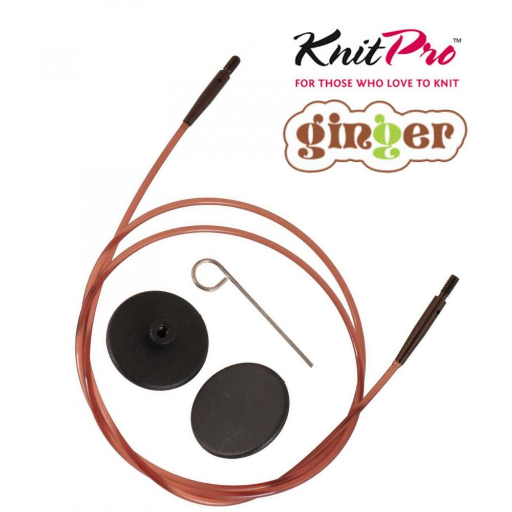 ЛЕСКА Knit Pro Ginger 100 см