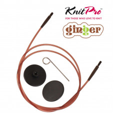 ЛЕСКА KnitPro Ginger 80 см