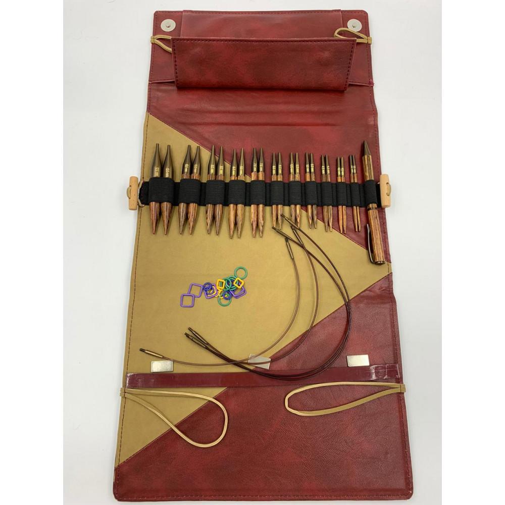 """Набор Knit Pro """"Deluxe Special IC"""" укороченных съемных спиц """"Ginger"""""""