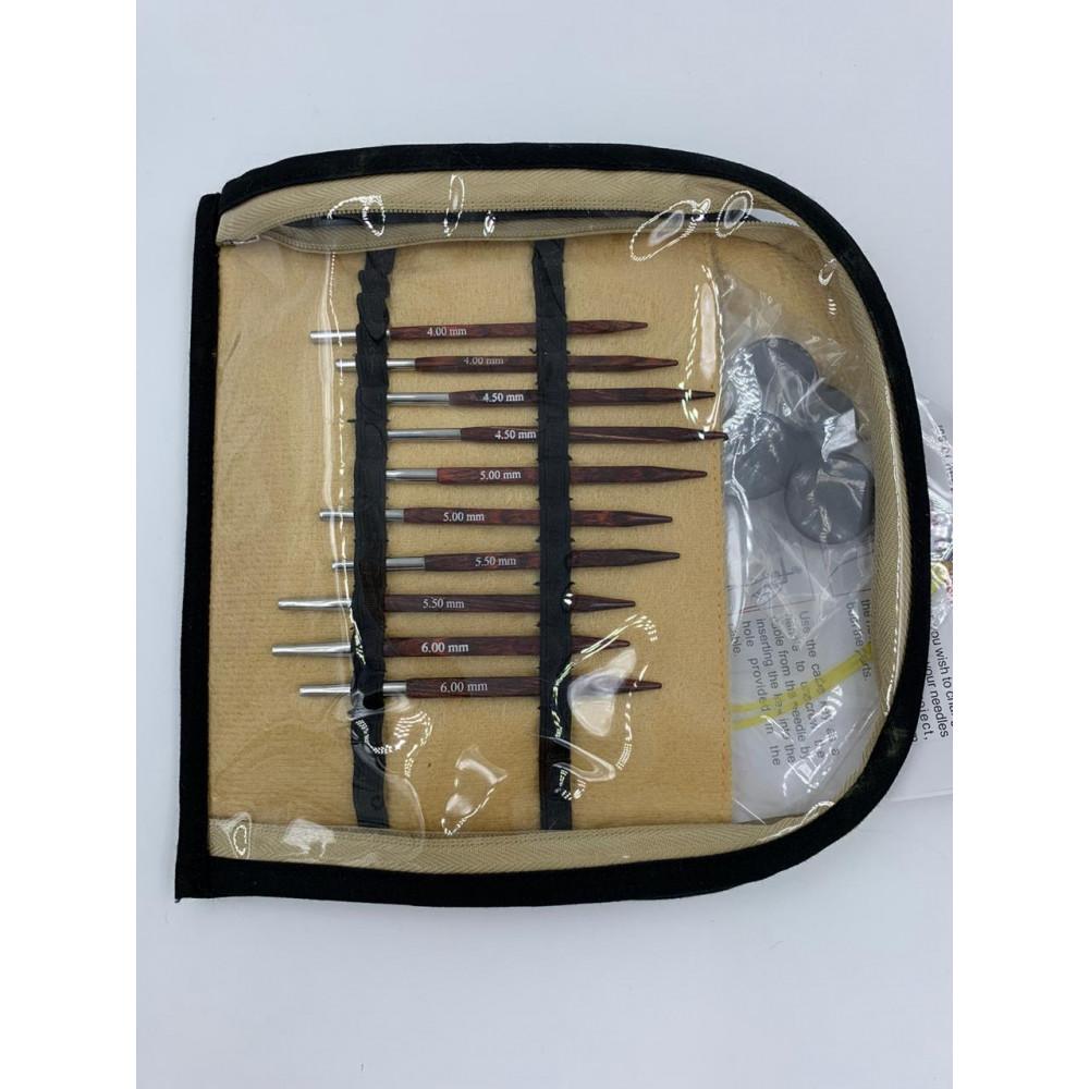 """Набор Knit Pro """"Special Interchangeable Needle Set"""" укороченных съемных спиц """"Cubics"""""""