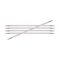 Чулочные металлические спицы Knit Pro Nova Cubics, длина спицы 15 см/20 см