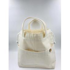 Проектная сумка для вязания (Белая)