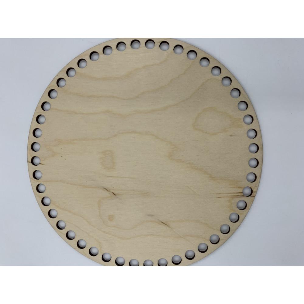Донышко деревянное круглое (15 см)