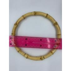 Ручка для сумок бамбуковая 17 см кольцо (1шт)