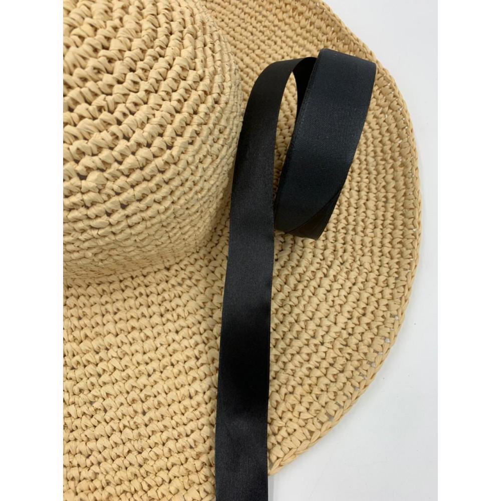 Лента декоративная (узкая, черная)