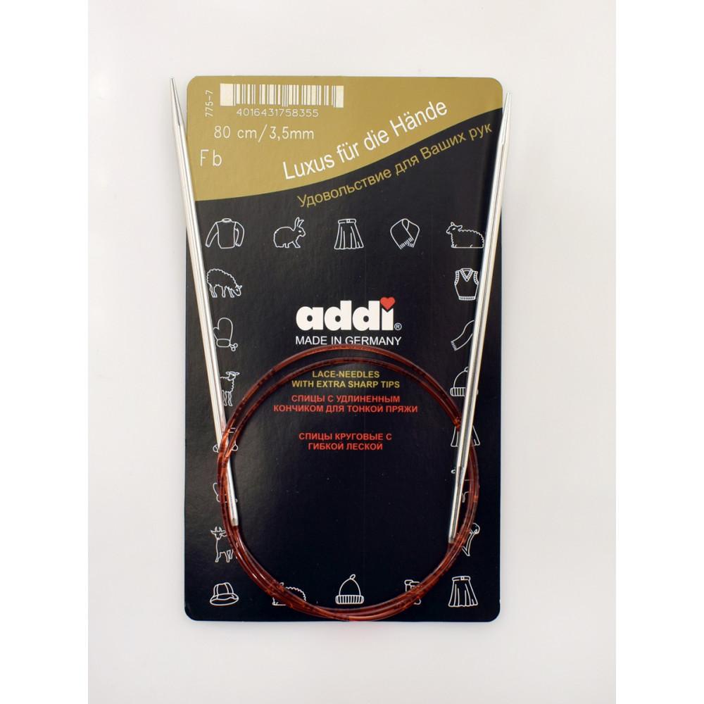Спицы Addi с удлиненным кончиком 100 см №4