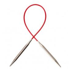 Спицы Chiaogoo Red Lace Premium SS металлические на леске 40 см 2мм
