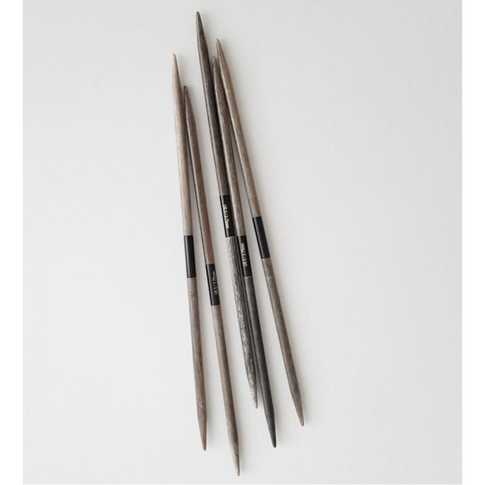 Спицы LYKKE Driftwood чулочные 3,5мм