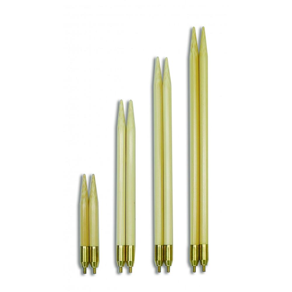 Спицы Seeknit съемные бамбуковые 12,5см/4мм