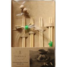 Набор Seeknit Широтаке набор М круговые спицы 12,5см  (4 размера)