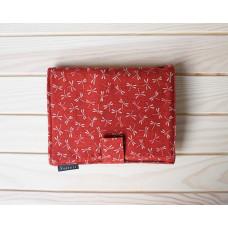 Набор Seeknit Shirotake Dualis S (спицы 5см и 10см). Красный чехол.