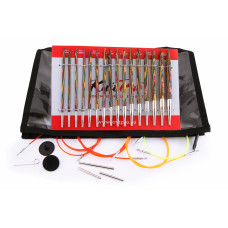 Набор Knit pro Symfonie wood interchangeable deluxe set (8 пар съемных деревянных спиц)