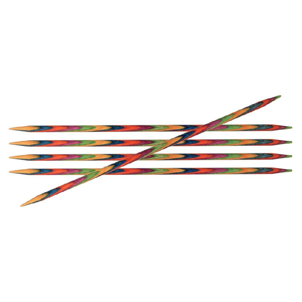 Спицы Knit Pro Symfonie 15см/3,5мм чулочные (5шт)