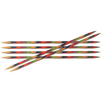 Cпицы Knit Pro Symfonie 20см/3мм чулочные (6шт)