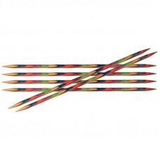 Cпицы Knit Pro Symfonie 10см/2мм (чулочные, укороченные) (6шт)