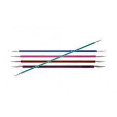 Спицы Knit Pro Zing Чулочные 15см/2,5 мм (металлические)