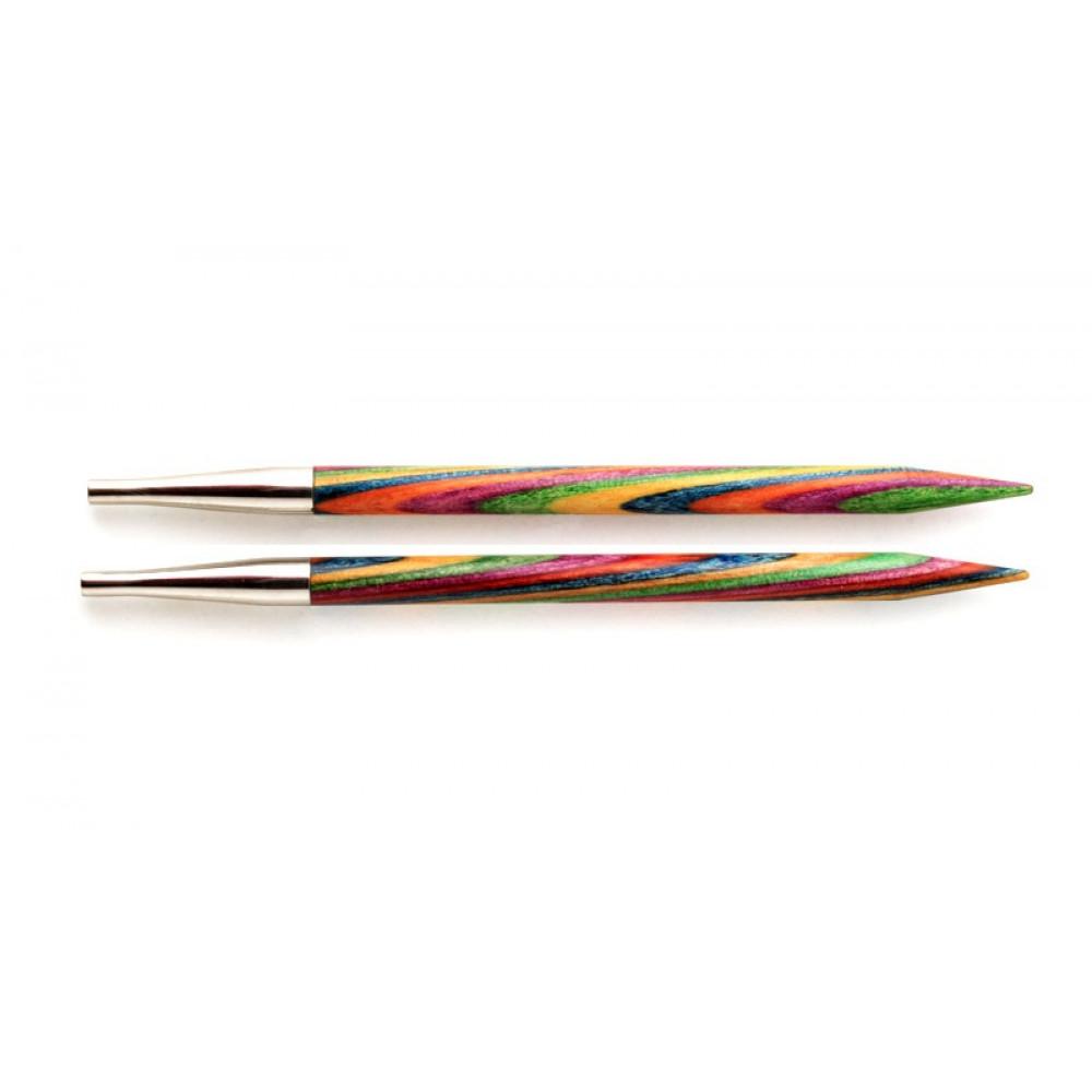 Спицы Knit Pro Simphonie  съемные (стандартные, деревянные) 13см/4.5мм