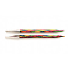 Спицы Knit Pro Simphonie  съемные (укороченные, деревянные) 10см/3 мм