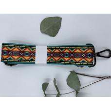 """Ремень для сумки нейлоновый с принтом """"Цветные ромбики""""  (ширина 4см, длина 140 см)"""