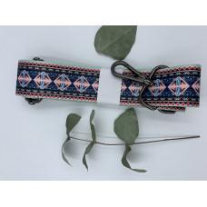 """Ремень для сумки нейлоновый с принтом """"Ромбики""""  (ширина 4см, длина 140 см)"""