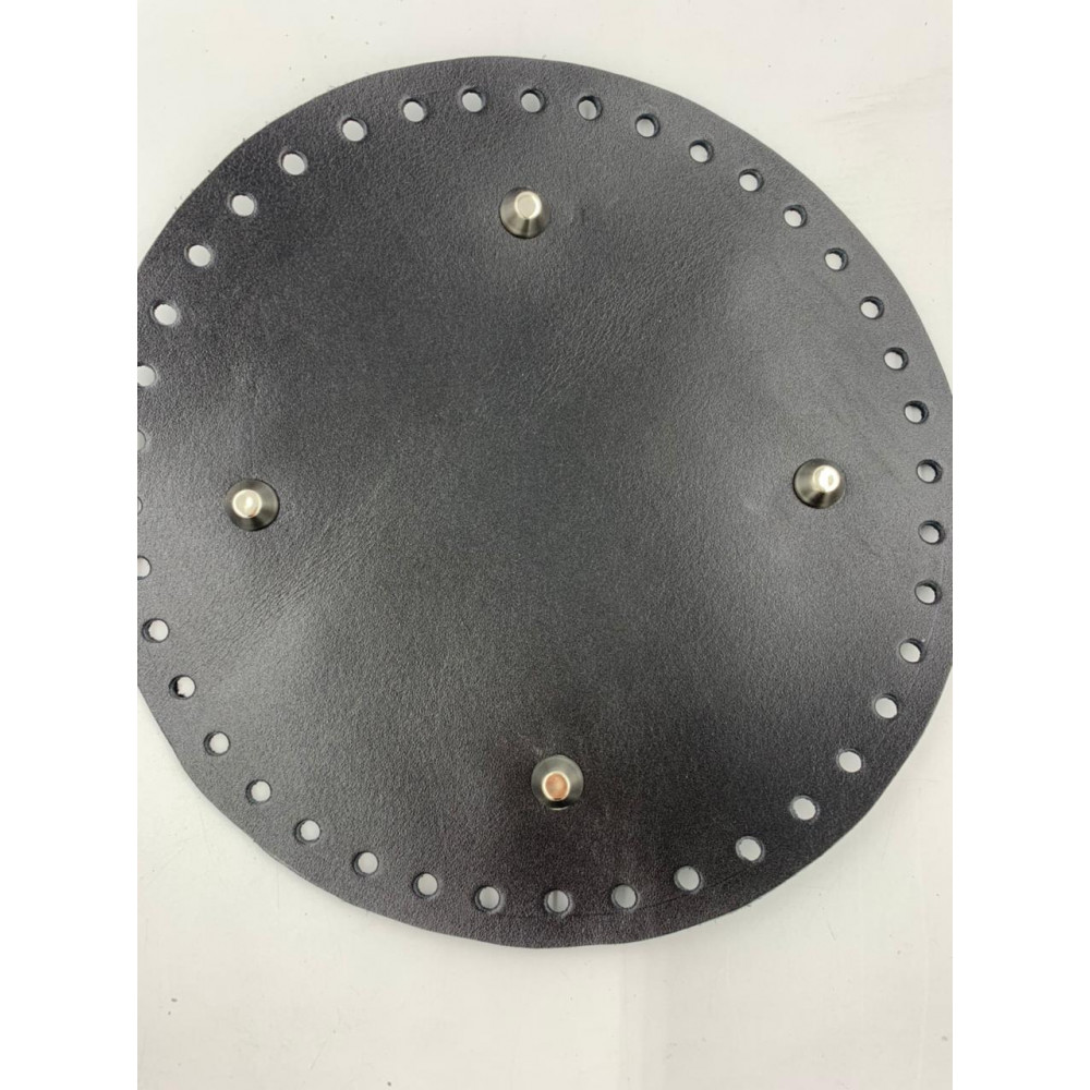 Донышко для сумки (круглое, диаметр 20 см, черный)