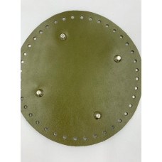Донышко для сумки (круглое, диаметр 20 см, зеленый)