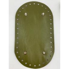 Донышко для сумки (овальное , 23х13 см, зеленый)
