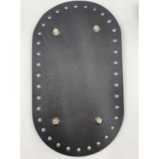 Донышко для сумки (овальное , 23х13 см, черный)