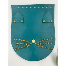 """Крышка для сумки  """"Кошка"""" (голубой, 15*19 см)"""