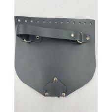 Крышка с ручкой и магнитной кнопкой (темно-серый, 20*19 см)