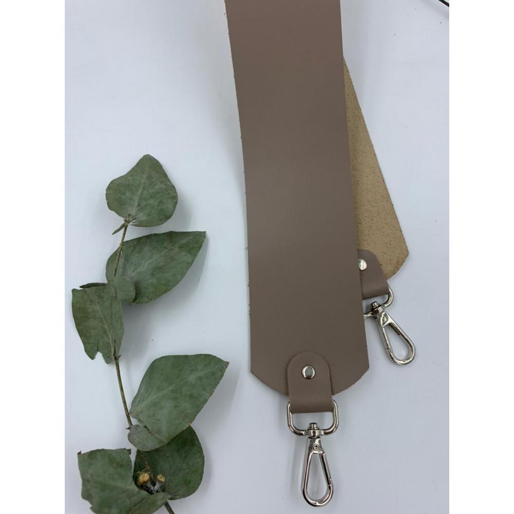 Ремень для сумки широкий (6см) 80см (Тауп)