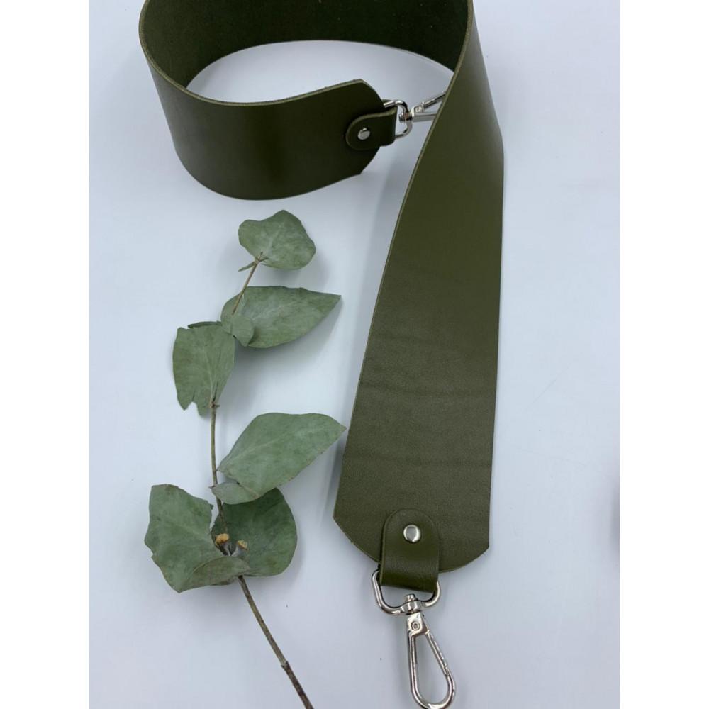 Ремень для сумки широкий (6см) 80см (Хакки)
