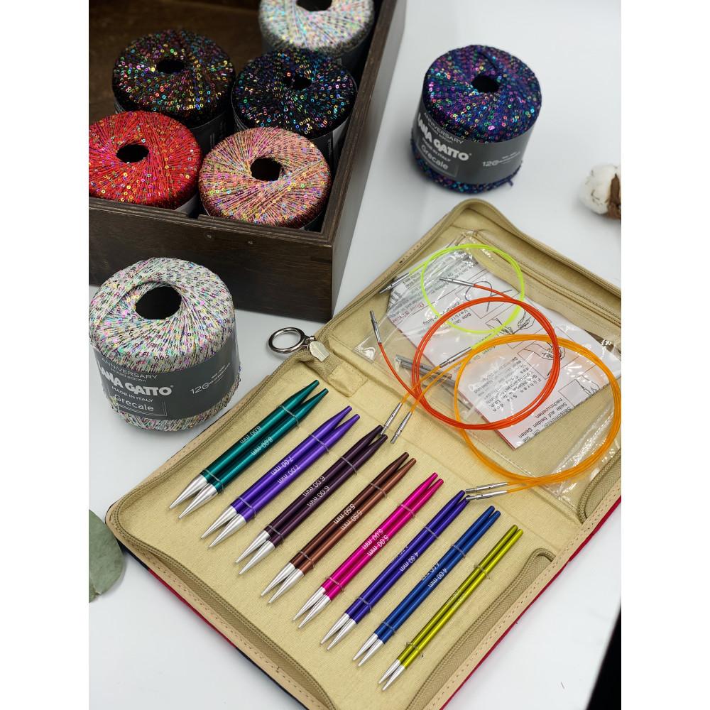 Набор Knit Pro Deluxe Set  Zing (стандартные, круговые)