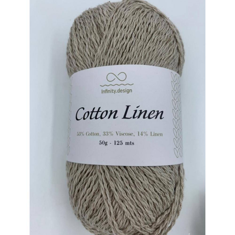 Пряжа Infinity design Cotton Linen (2331)