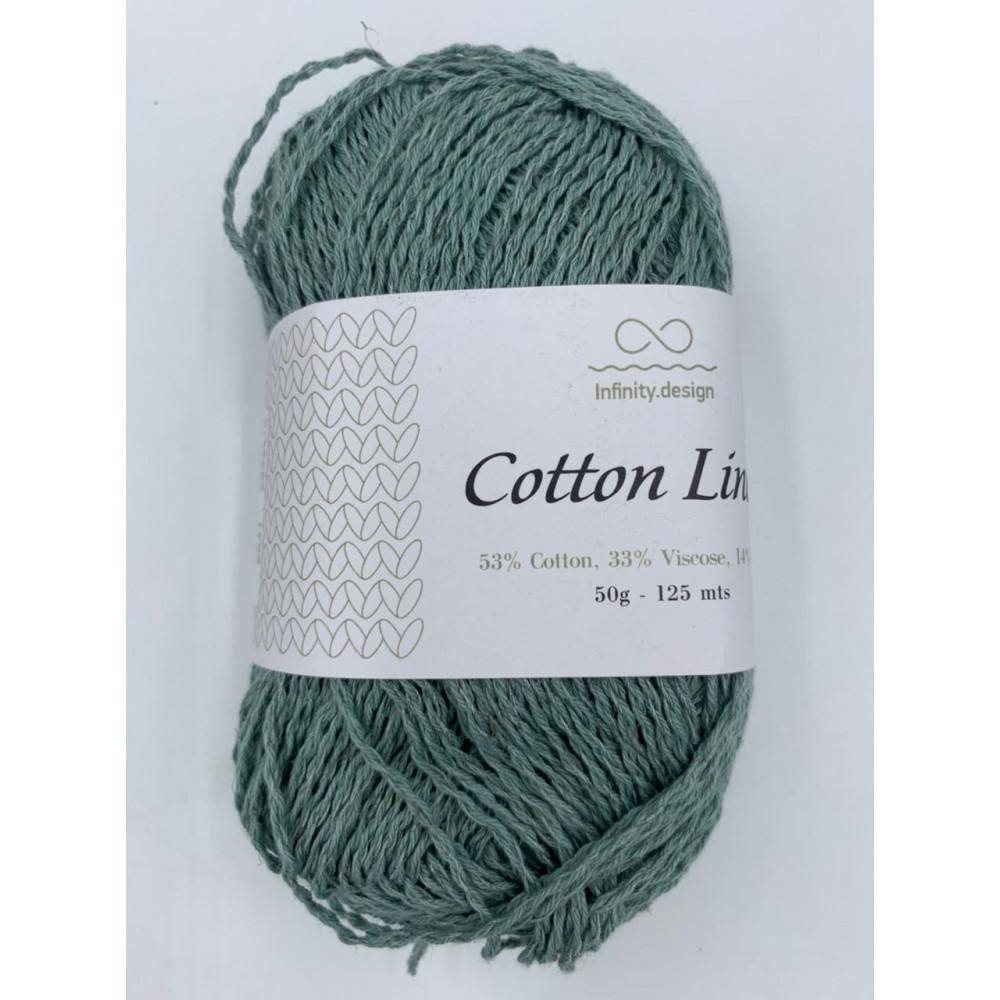 Пряжа Infinity design Cotton Linen (6841)
