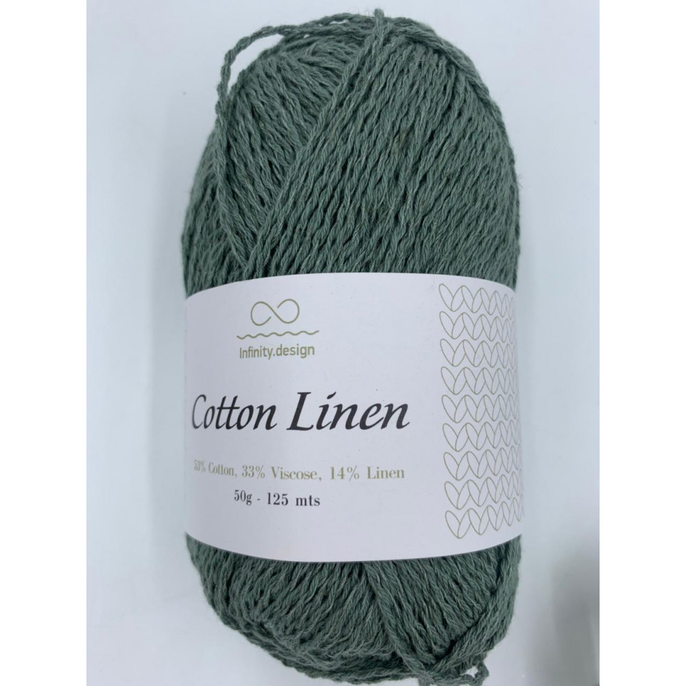 Пряжа Infinity design Cotton Linen (8561)