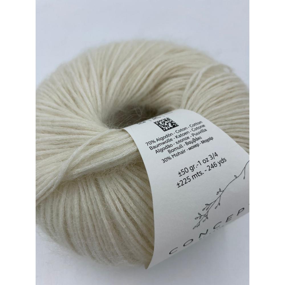 Пряжа Katia Concept Mohair Cotton (070)
