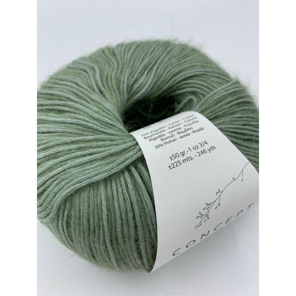 Пряжа Katia Concept Mohair Cotton (072)