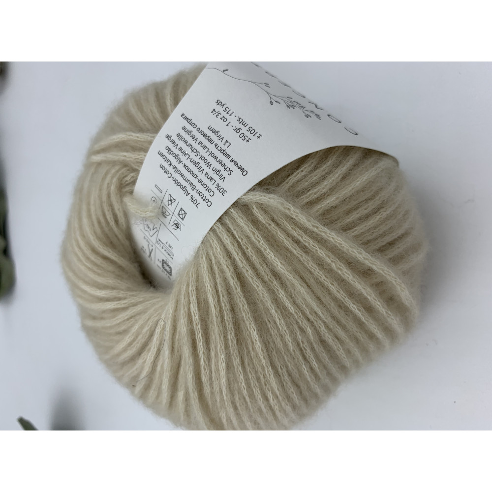 Пряжа Katia Concept Cotton Merino (101)