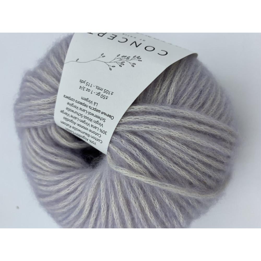 Пряжа Katia Concept Cotton Merino (128)