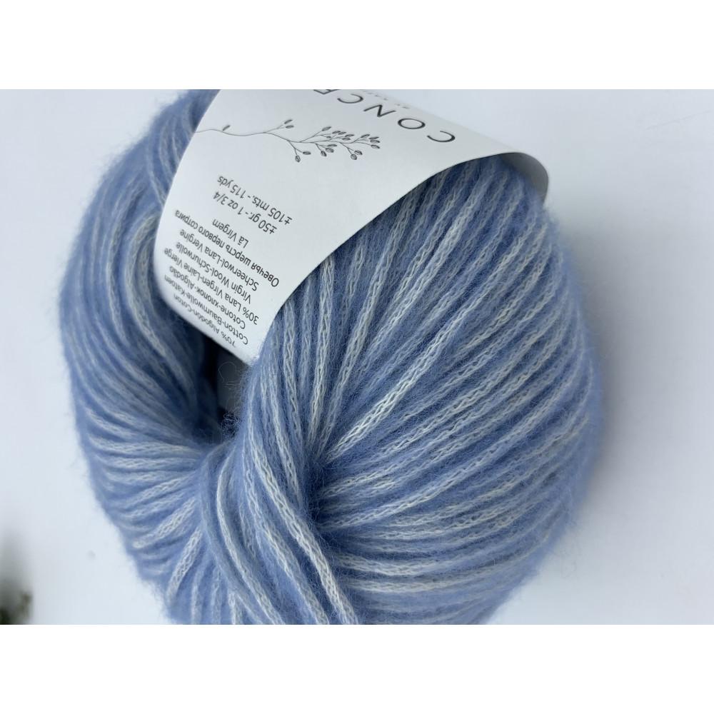 Пряжа Katia Concept Cotton Merino (131)