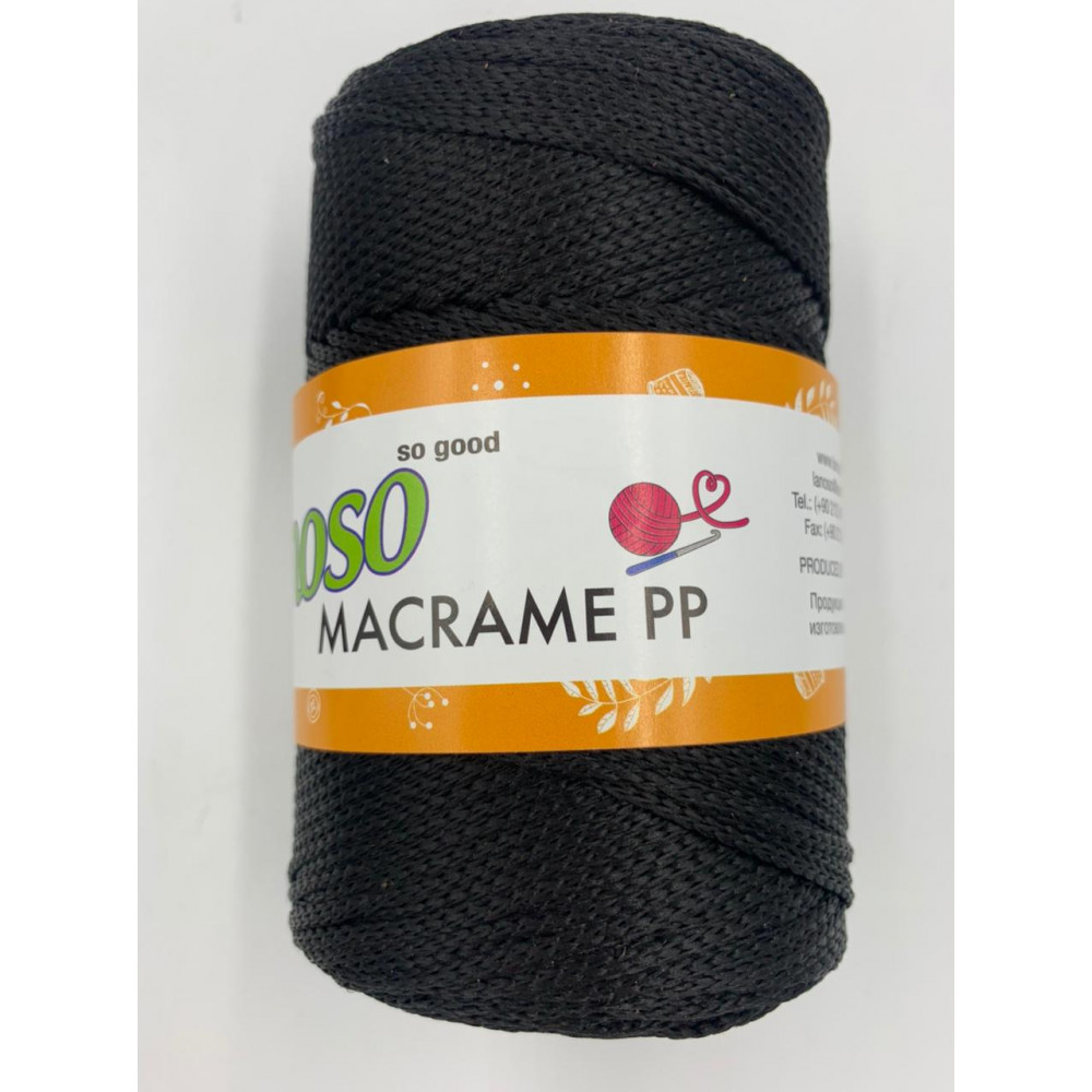Пряжа Lanoso Macrame PP (960)