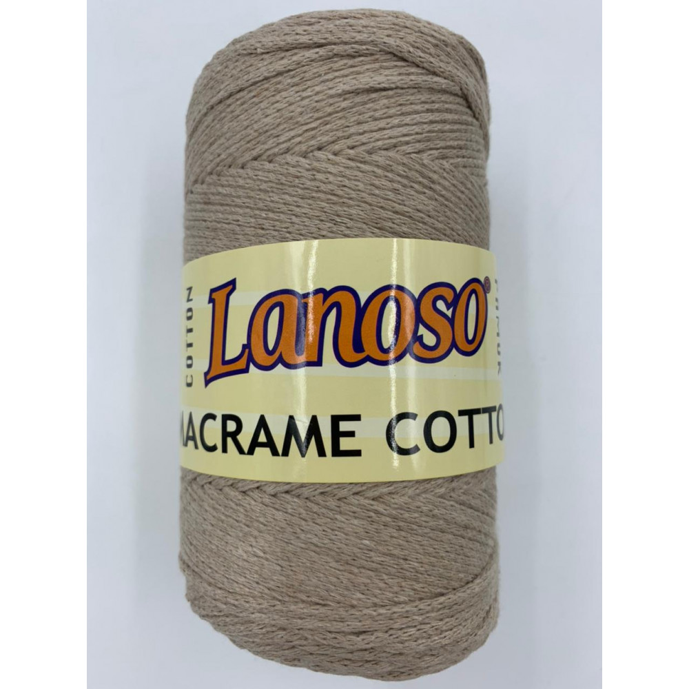 Пряжа Lanoso Macrame Cotton (805)