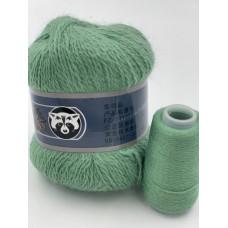 Пух норки (032) (Серо-зеленый)