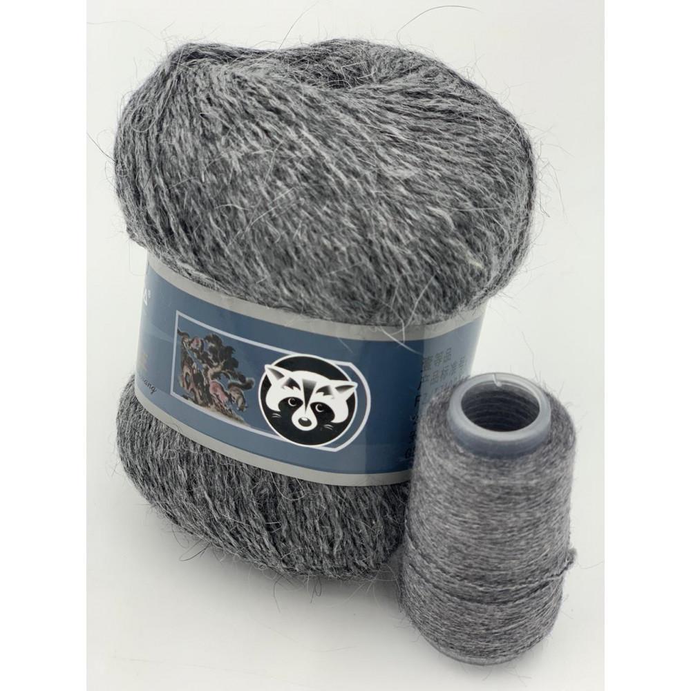 Пряжа Пух норки (803) (Серый)