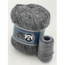 Пух норки (803) (Серый)