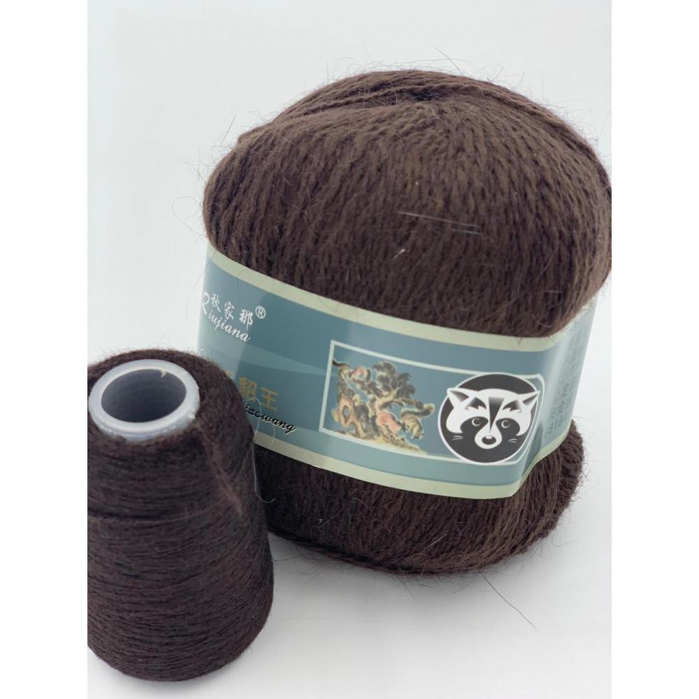 Пряжа Пух норки (815) (Темно-коричневый)